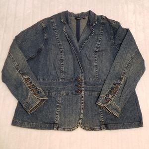 BOGO Free🦋 a.n.a. Blazer Style Jean Jacket
